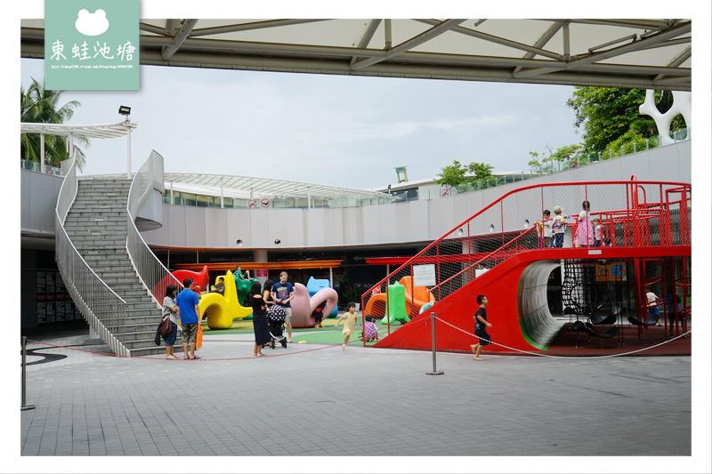 【新加坡免費景點】VivoCity 怡豐城 免費露天式兒童樂園 Kids Club