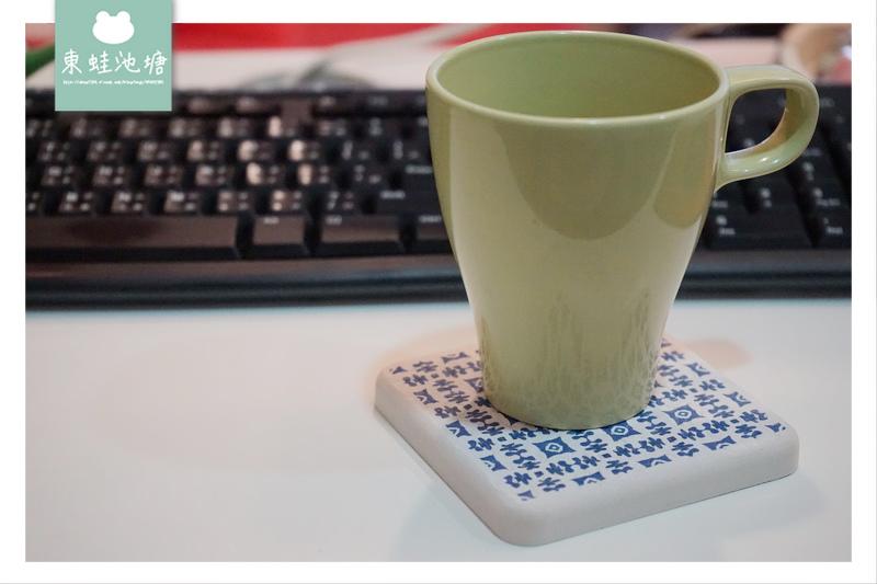 【吸水杯墊推薦】MBM 珪藻土花磚杯墊 | MIT台灣製造 無毒居家用品