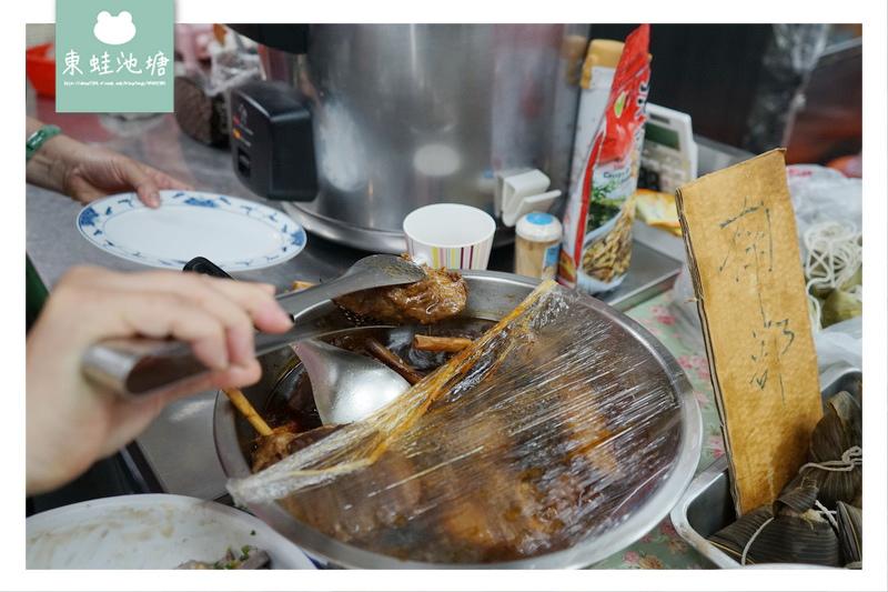 【台北士林區市場美食】士東市場 帶骨小腱子好棒棒套餐 曉平家常小吃