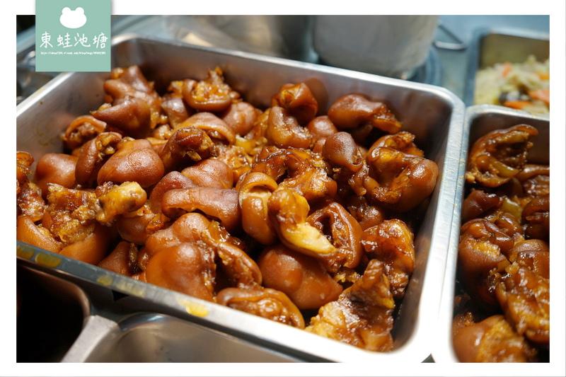 【台北文山區市場美食】木新市場 去骨豬腳美味便當 巧味豬腳