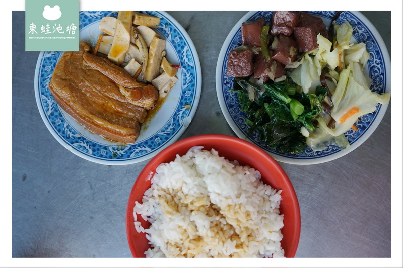 【台中后里區便當推薦】超厚實雞排飯 鄭記爌肉飯