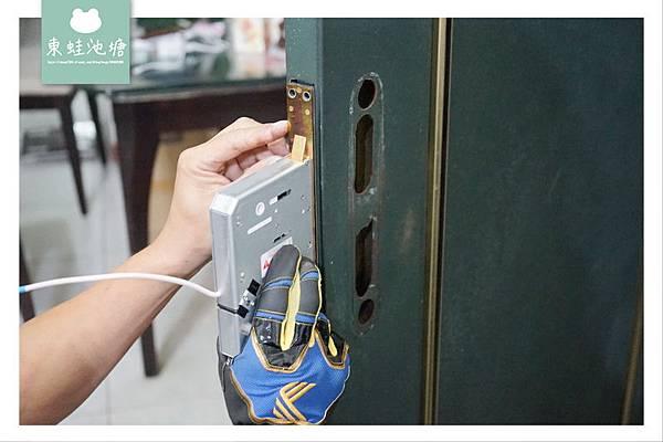 【電子鎖推薦】Commax 康邁世電子鎖 韓國消費者2017年票選第一名品牌 指紋/卡片/密碼/鑰匙四合一