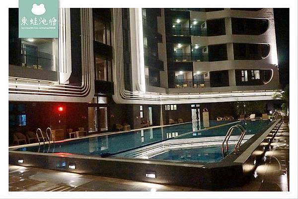 【宜蘭羅東住宿推薦】村却國際溫泉酒店 一泊二食 兒童遊戲區 戶外游泳池 東西匯精緻料理
