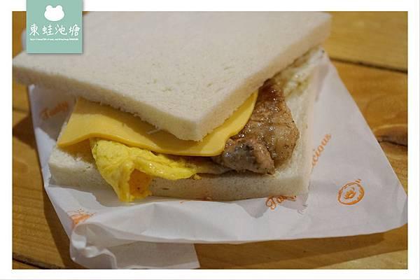 【桃園大業路早餐】簡單美味肉蛋吐司 營養滿分媽媽炒麵 egg's home 早餐新開張