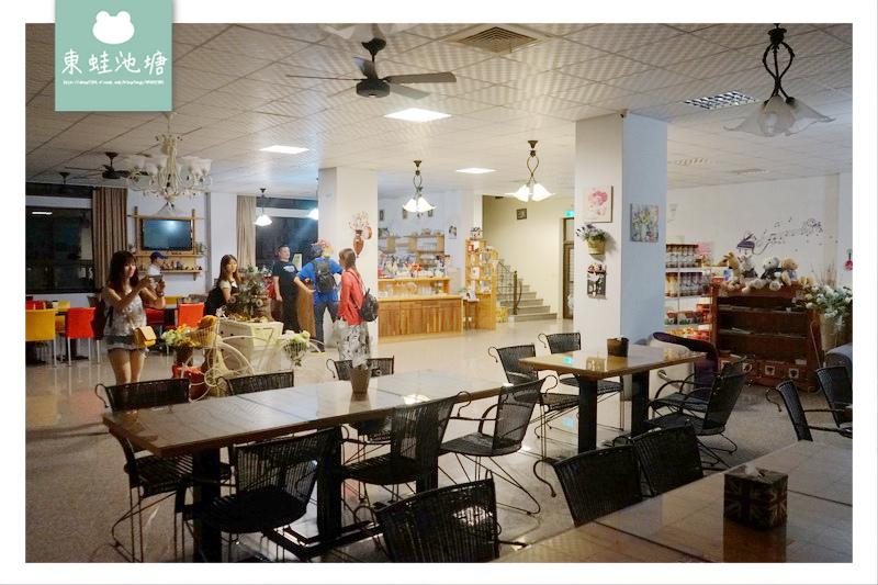 【苗栗南庄住宿推薦】南庄老街開車三分鐘 超寬廣花園 富川花園民宿餐廳