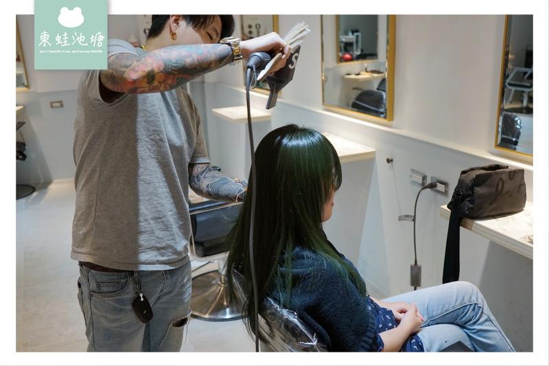 【台北車站染髮護髮推薦】客製化染髮好選擇 韓國藍光奈米噴霧護髮 InK Hair 沙龍北車旗艦店