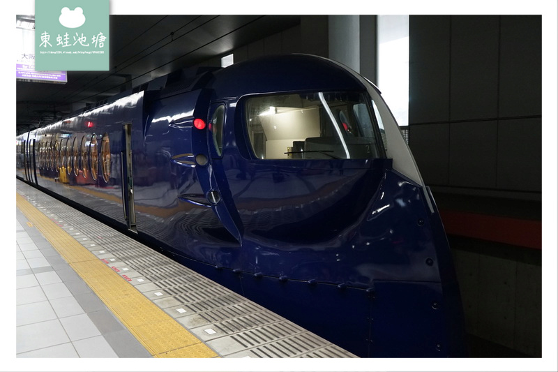 【大阪關西機場交通推薦】關西機場往大阪市區 南海電鐵特急rapi:t