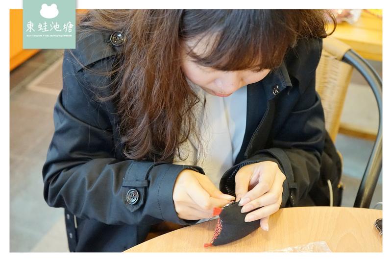 【桃園復興手作課程推薦】莎呦泰雅編織伴手禮店 泰雅傳統編織DIY 飛鼠鑰匙圈