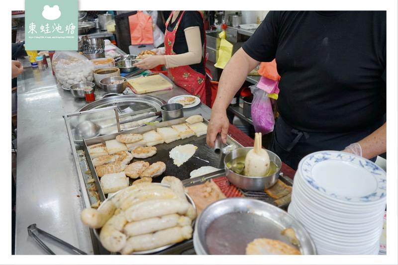 【台中中區小吃推薦】第二市場排隊美食 來一份三樣 王家菜頭粿糯米腸