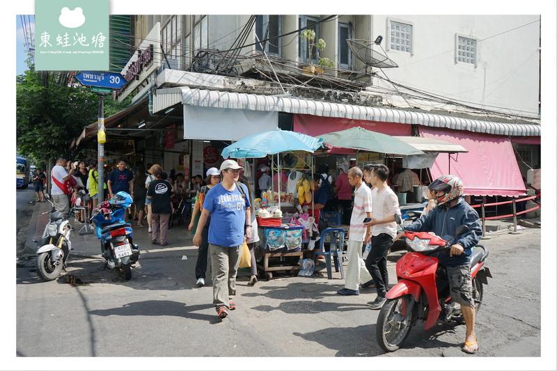 【泰國曼谷美食推薦】米其林必比登推薦 水門市場旁 粉紅制服紅大哥海南雞飯