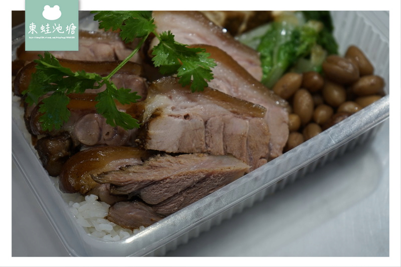 【台北美食外送推薦】黃亞細肉骨茶餐盒 香滷豬手餐 綜合滷水餐