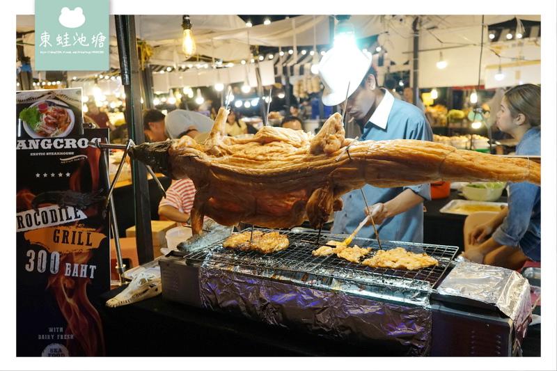 【泰國曼谷夜市推薦】逛到腿痠的 Asiatique 河濱夜市 超多美食的亞洲夜市公園