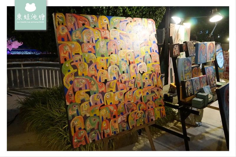 【泰國華欣景點推薦】華欣旅遊不可錯過的文青創意市集 週末限定的蟬鳴創意市集 Cicada Market