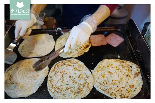 【台北廣州街觀光夜市美食推薦】人氣排隊小吃 阿華蔥抓餅