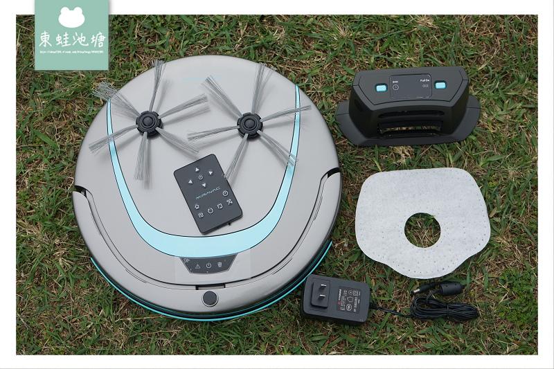 【薄型掃地機器人推薦】6cm超薄機身設計 AI智慧居家清潔好幫手 松騰掃地機器人 MIRAVAC W4