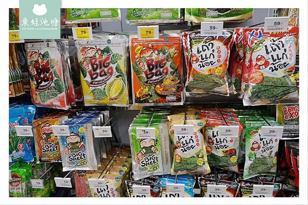【泰國曼谷伴手禮血拼好去處】Big C Supercenter 泰國必買零食餅乾都在這