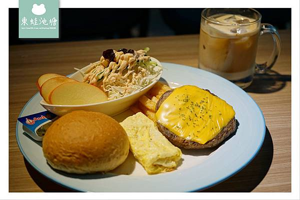 【板橋早午餐推薦】工業風裝潢 APP行動訂餐 晨間廚房板橋重慶店