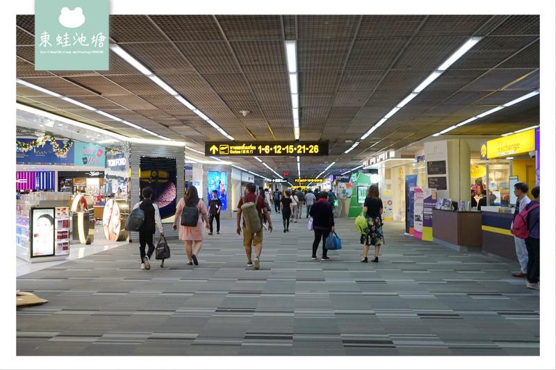 【【台灣虎航 IT506】泰國曼谷廊曼機場環境介紹 24小時營業機場美食街 Magic Garden