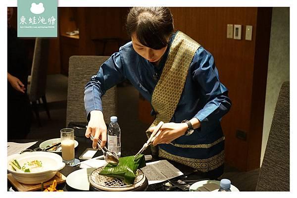 【台北中正區泰式料理推薦】台北火車站周邊美食 漾彩盛泰潑水節限定料理 台北喜來登蘇可泰 SUKHOTHAI 泰式料理
