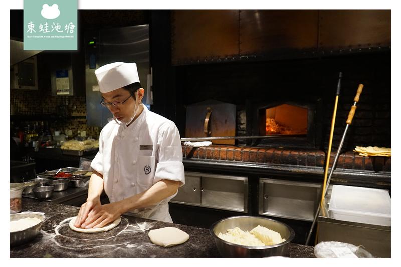 【台北披薩推薦】獨一無二炭烤火爐 道地義式餐點料理 比薩屋-台北喜來登大飯店