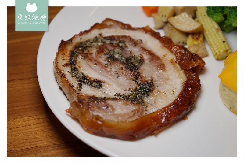 【新竹義式料理推薦】自家農田無農藥香草 招牌手工香草豬肉捲 MEAT TIME 歐式羅馬料理