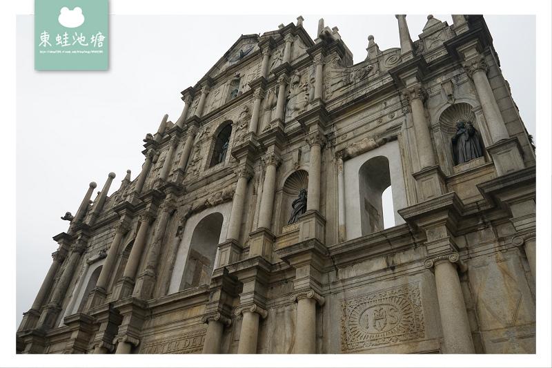 【澳門免費景點推薦】聖保祿大教堂遺址 聯合國世界文化遺產 大三巴牌坊 天主教藝術博物館與墓室