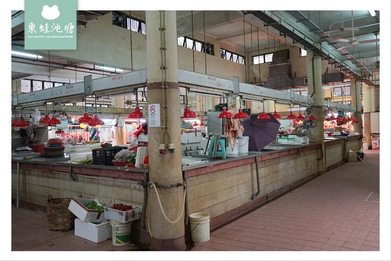 【澳門傳統市場嘗美食】始於清朝光緒年間 在地人的菜市場 雀仔園街市