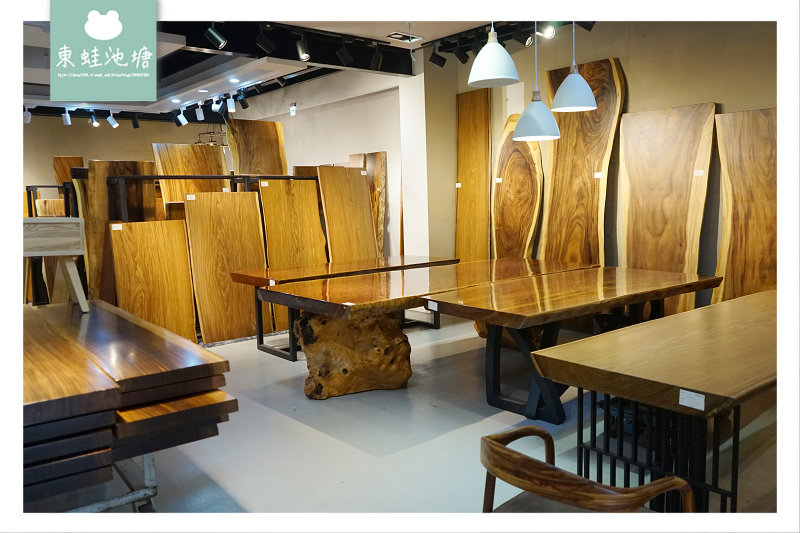 【桃園蘆竹南崁原木餐桌推薦】全桃園最大原木桌板專賣 免運保固一年 原木狂人