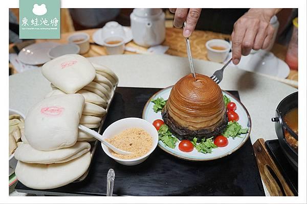 【桃園大溪美食推薦】客家委員會認證餐廳 美味必吃包二奶 溪友緣風味料理餐廳