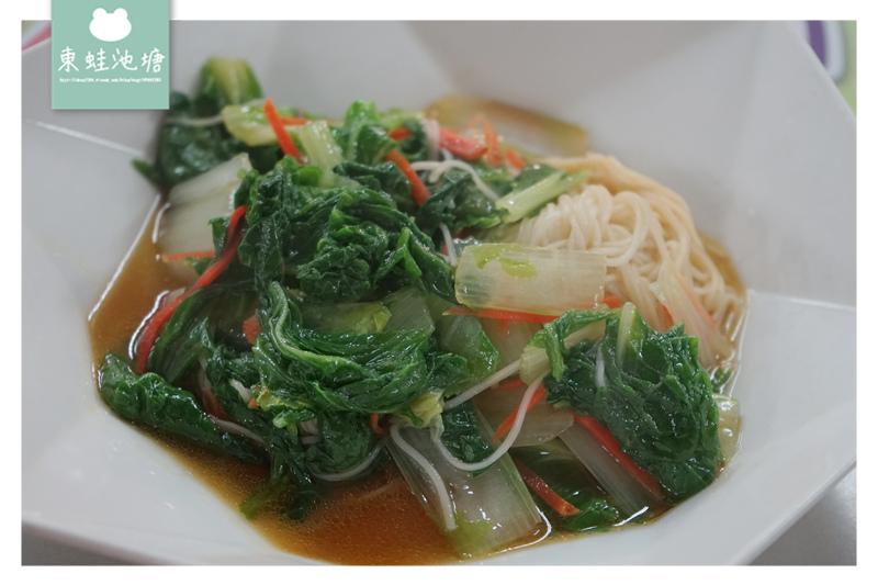 【台北永樂市場美食推薦】台北大同區素食好選擇 五菜便當只要80元 永樂養生蔬食