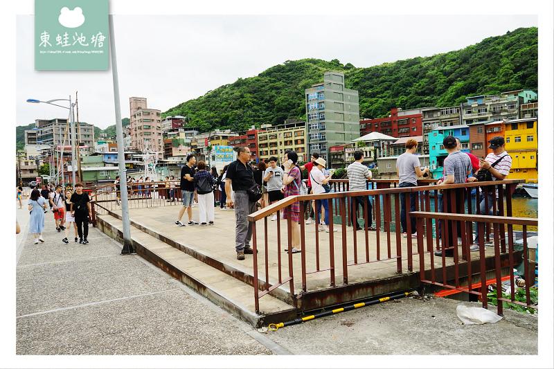 【基隆IG打卡景點推薦】正濱漁港彩虹屋 阿根納造船廠遺址