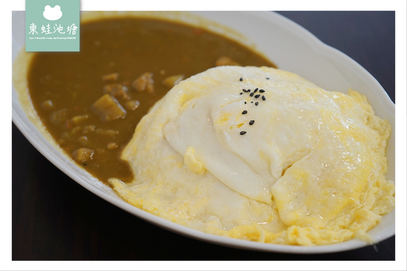 【新竹好事多周邊美食推薦】平價小吃CP值高 美味滑蛋咖哩飯 嫚饗麵食館