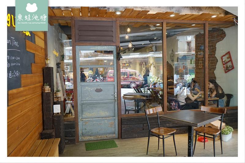 【板橋咖啡館推薦】捷運新埔站巷弄特色咖啡廳 有wifi/插座/平日不限時 翁林.林Café