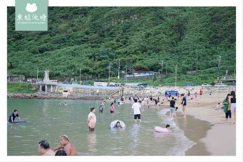 【基隆免費玩水好去處】親子玩水玩沙最佳選擇 外木山大武崙情人海灘