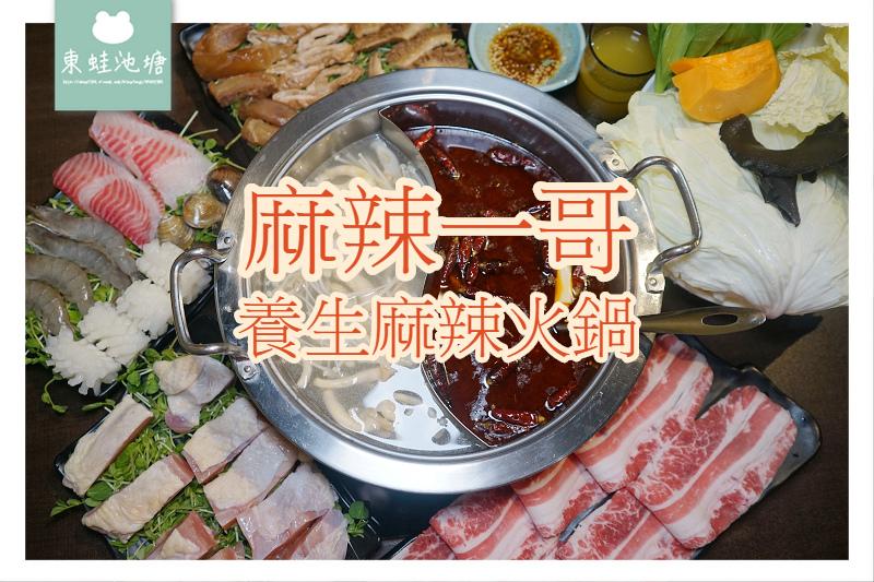 【桃園麻辣鍋推薦】道地四川重慶口味 平日肉品第二件五折 麻辣一哥養生麻辣火鍋