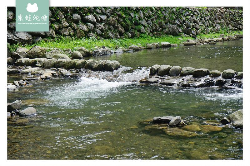【新北坪林玩水好去處】親子無料玩水趣 免費停車場 下坑子口溪親水遊憩區