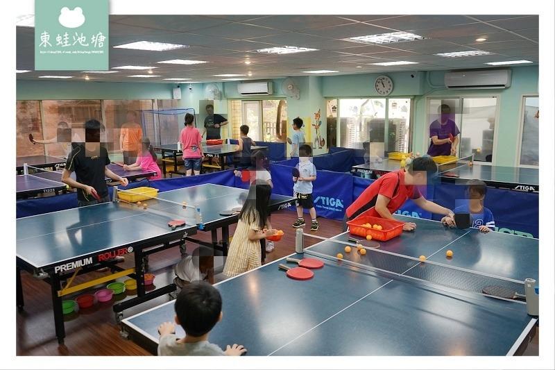 【台北桌球教室】台北親子運動教學推薦 乒乓島樂園兒童桌球教學教室