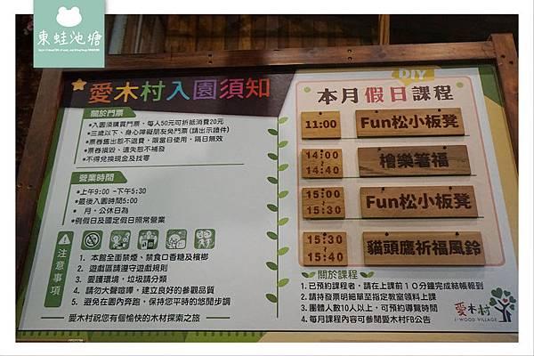 【嘉義室內親子景點推薦】室內拍照打卡好去處 兒童遊戲區 愛木村休閒觀光工廠