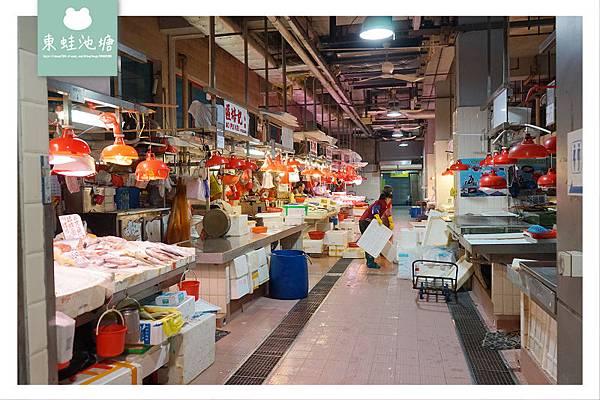 【澳門用餐逛菜市場推薦】營地街市熟食中心 營地街市市政綜合大樓