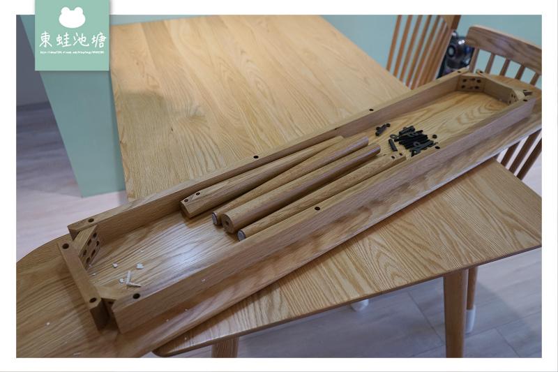 【淘寶購買家具心得分享】原木電視櫃+茶几+餐桌椅只要3萬元 源氏木語實木傢俱