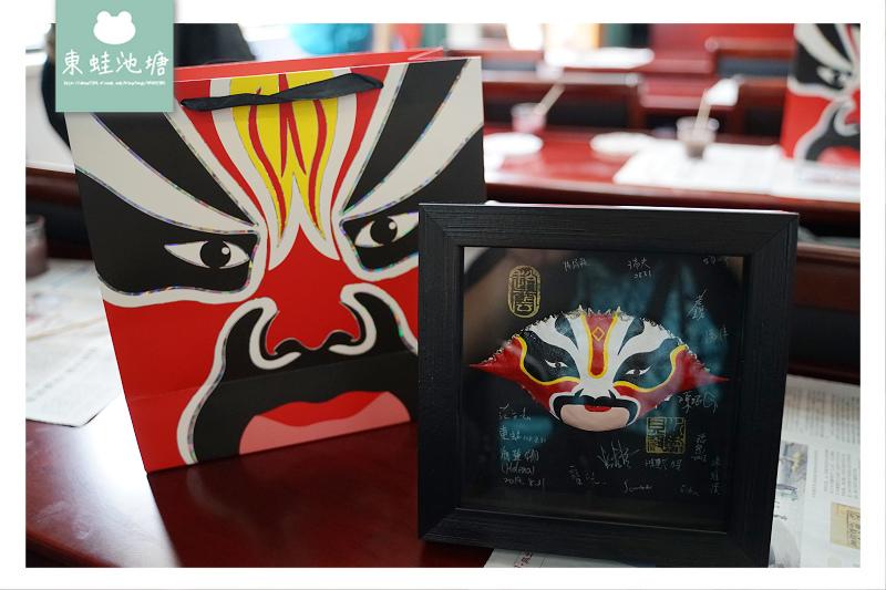 【溫州洞頭手作DIY體驗】水族外殼戲曲臉譜畫 水族貝殼手繪工作室