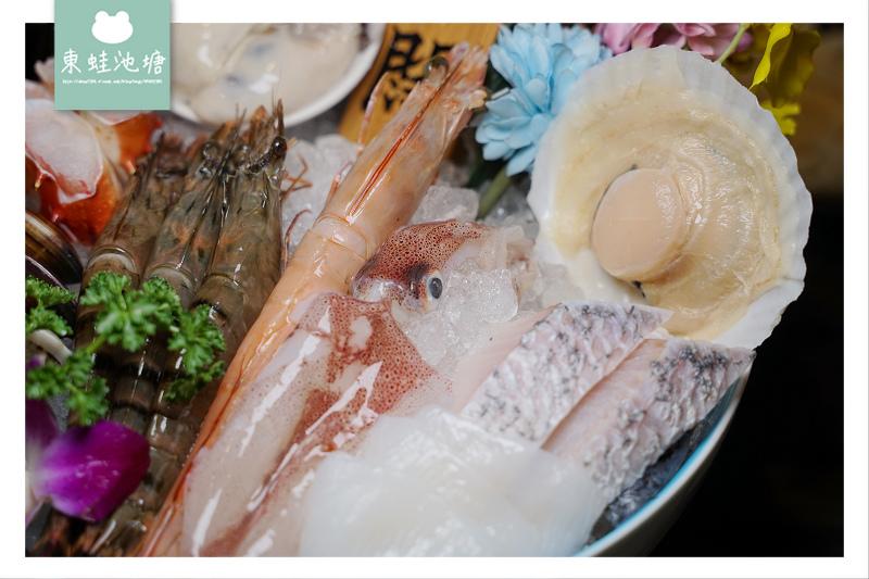 【台北大直內湖火鍋推薦】產地直送新鮮彈牙活海鮮 闊佬 shabu shabu