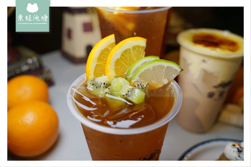 【台中精誠商圈下午茶推薦】美味歐風水果紅茶 黛黛茶圓舞曲蛋糕 黛黛茶 DailyDae