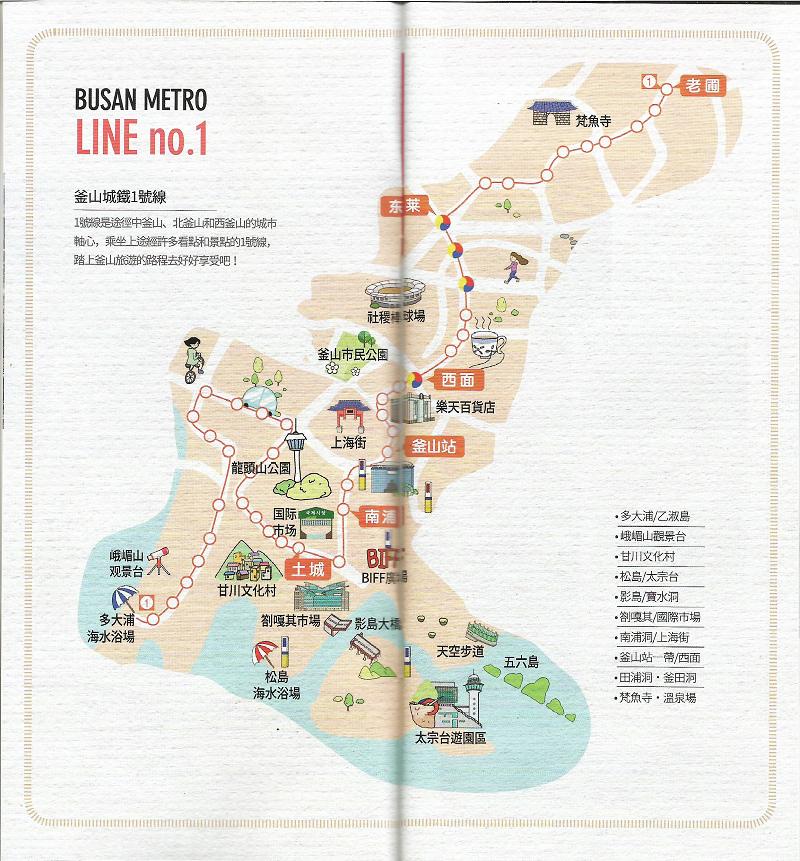 【韓國釜山景點】28個推薦景點總整理 景點地圖分區介紹
