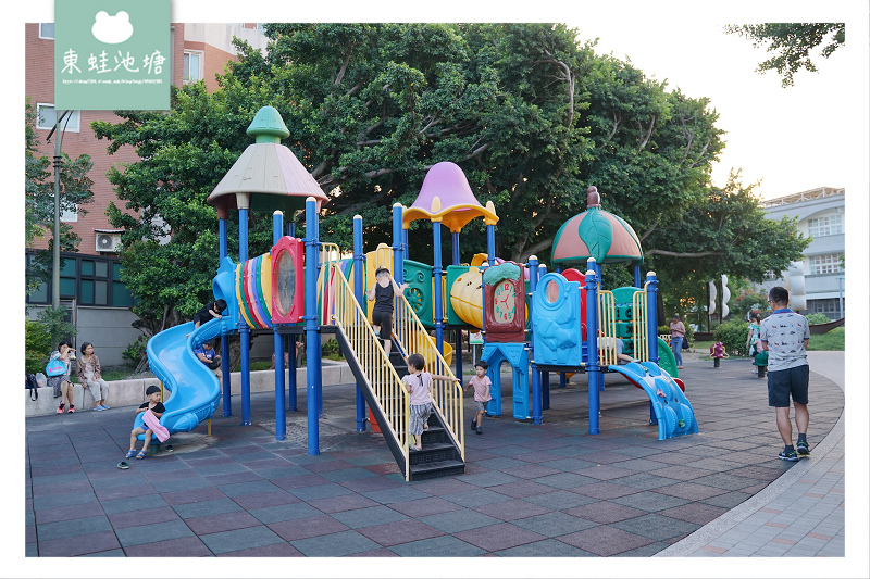【彰化鹿港免費親子景點】兒童遊戲區 沙坑攀岩牆 鹿港小鹿兒童公園