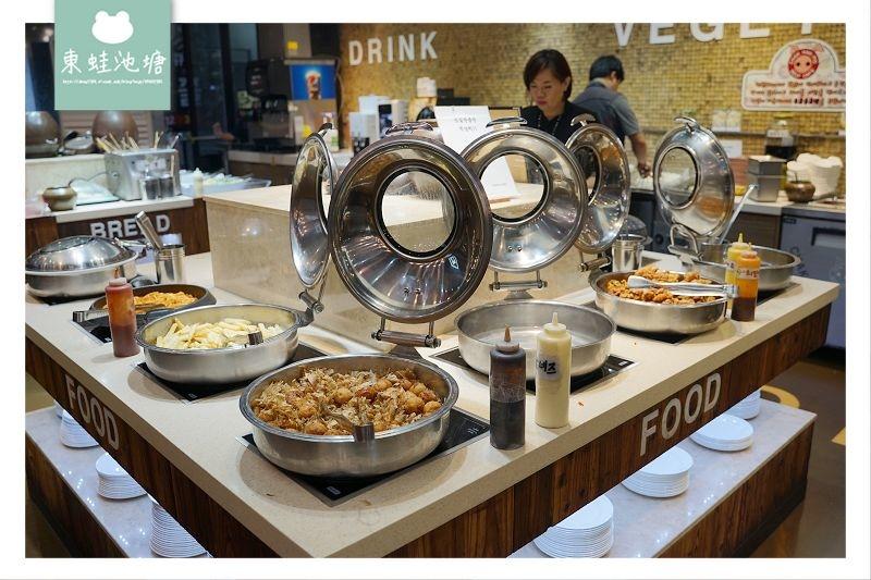 【釜山西面吃到飽推薦】韓式燒肉吃到飽 韓式炸雞血腸魚糕串通通有 善良的豬 착한돼지