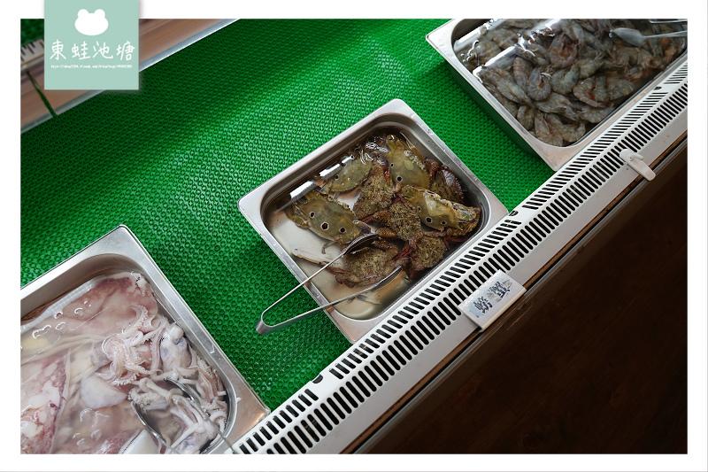 【桃園蘆竹文中路吃到飽推薦】澎湖直送鮮魚 現切牛排骰子牛 文中海鮮百匯