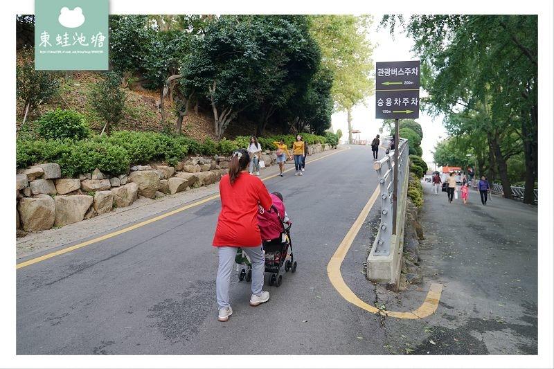 【釜山南浦洞免費景點推薦】釜山三大名山 釜山夜景好去處 龍頭山公園 용두산공원