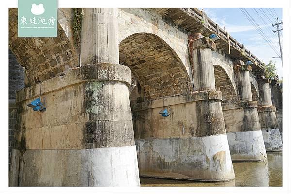 【新竹關西免費景點推薦】興建於1927年 東安古橋 彩鳳橋