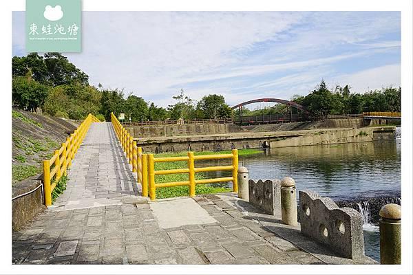 【新竹關西免費景點推薦】興建於1927年 東安古橋 牛欄河親水公園